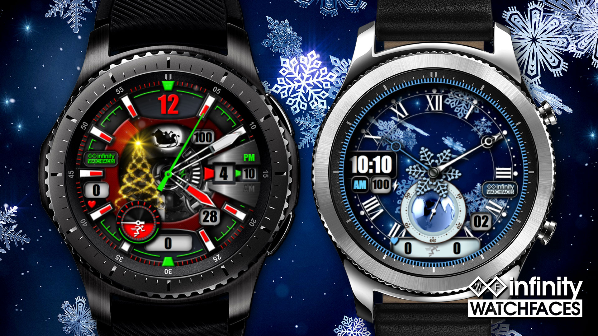 Gear S2 Black Friday : two must have christmas watch faces gear s3 s2 infinity watchfaces ~ Hamham.info Haus und Dekorationen