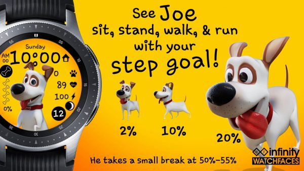 Joe Watch Face for Samsung Galaxy Watch and Galaxy Active