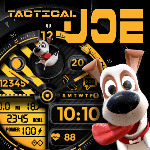 Joe Tactical Watch Face for Samsung Galaxy Watch