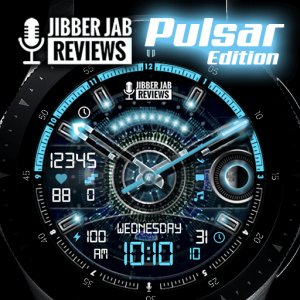 Galaxy Watch and Galaxy Active Watch Face Pulsar Edition Jibber Jab Reviews