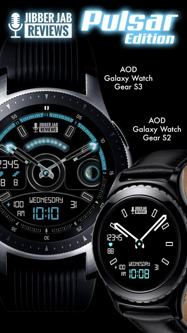 Pulsar Edition Watch Face AOD Mode - Alway On Display