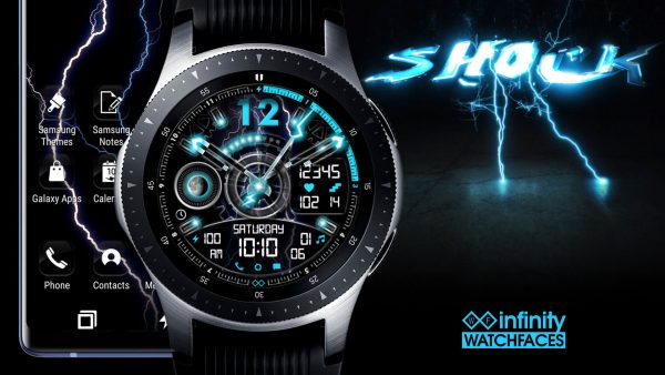 Shock Watch Face for Samsung Galaxy Watch and Galaxy Active
