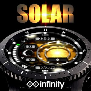 Solar Watch Face for Samsung Galaxy Watch and Galaxy Active