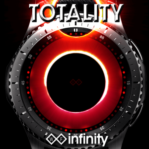 Totality Watch Face for Samsung Galaxy Watch and Galaxy Active