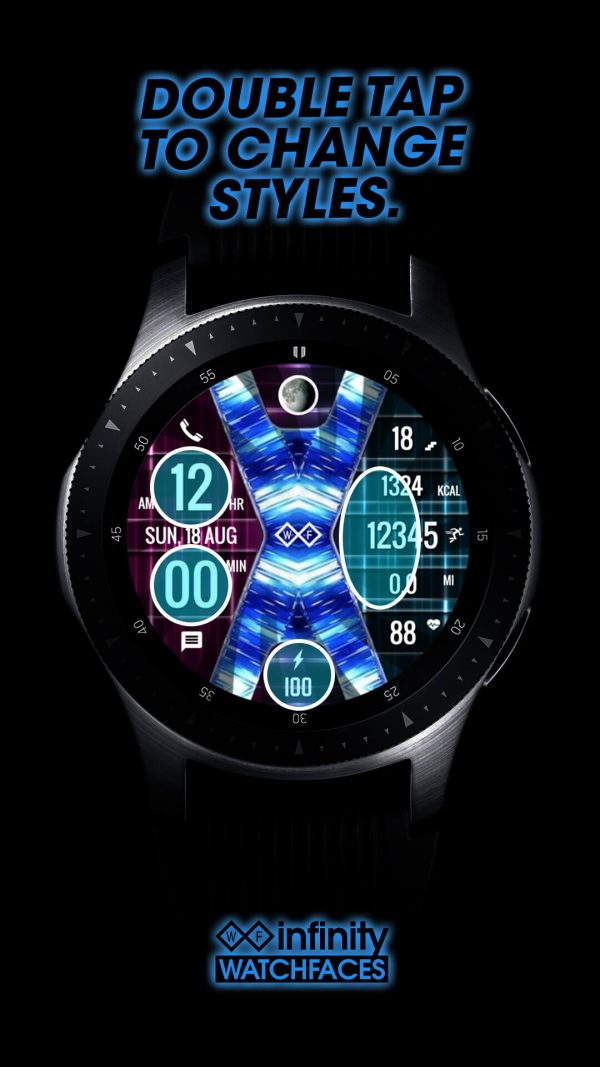 Infinity X Watch Face for Galaxy Active 2 & Galaxy Watch